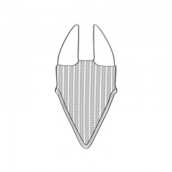 Bonnet long personnalisable